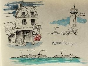 Ploumanach - Bretagne